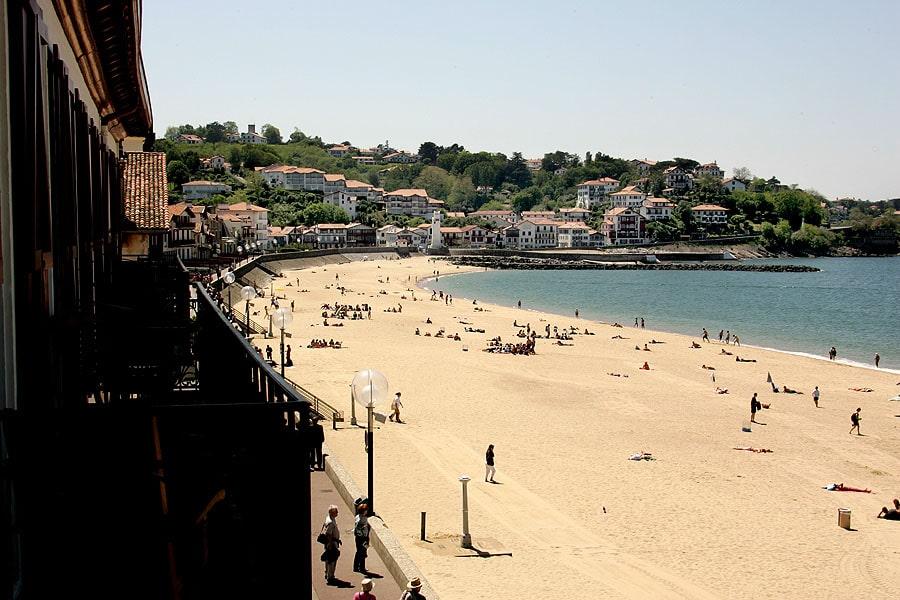 La grande plage de Saint Jean de Luz