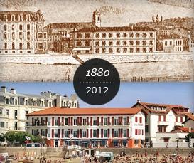 Histoire de l'Hôtel de la plage
